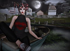 Moonlights and Boats (inkie Loudwater) Tags: mina gos cheekypea glamaffair fameshed we3roleplay