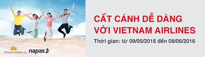 Cất cánh dễ dàng với Vietnam Airlines năm 2016
