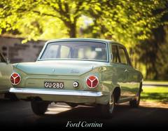 Ford Cortina (T.Nieminen) Tags: old ford cortina car bokeh f12 85lii