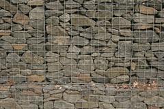 Gabion basket (Owen P) Tags: landscapearchitecture retainingwall gabions stirlinguniversity gabionbaskets stonefilllandscapearchitecturestirlinguniversity