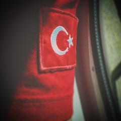 TRK BAYRAI  (Turkish Flag) (Abdullah*Yilmaz) Tags: flag hdr turkish trk bayrai iphone6 vscocam