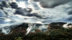 #nature #sky #clouds #forest #wood #trees #hill #hills #fog #foggy #mist #croatia (dario0806) Tags: hill foggy nature wood clouds mist sky croatia forest fog trees hills