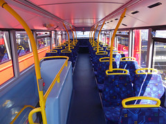 GAL MHV17 - BU16OZE - INTERIOR - BV BUS GARAGE - THUR 28TH APR 2016 F (Bexleybus) Tags: bus london ahead volvo interior garage go egyptian belvedere bv bodywork mcv goahead evoseti mhv17 bu16oze