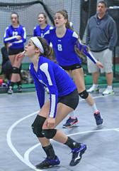 IMG_1535 (SJH Foto) Tags: school girls club high team teens teenager volleyball burst mode dig bump tweens