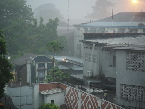 DRC rain