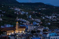 Blue Hour (BeijosGitanos) Tags: blue morocco chaouen chefchaouen bluepearl chaouene