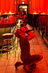 Ceiling Shooters (Thomas Hawk) Tags: cruise red usa bar google colorado unitedstates unitedstatesofamerica meta denver photowalk fav10 gcollection ryandearth goneyearanniversaryphotowalk goneyearannivesaryphotowalkdenver