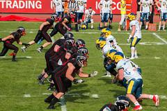 GFL-2016-Panther-9942.jpg (sgh-fotos) Tags: football nfl bowl german panthers sack dsseldorf touchdown defence invaders hildesheim dline fumble gfl amarican quaterback oline interception ofence