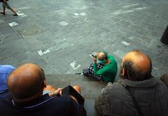 *** (Boris Rozenberg) Tags: life street city people italy digital hair florence nikon emotion pov head clown snapshot bald streetphotography sigma streetlife snap daily heads moment situation decisivemoment nohair sigmalens sigma1020