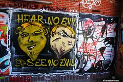 Hear no evil, see no evil (Red Cathedral is having big trouble uploading on M) Tags: streetart graffiti sony urbanart antwerp petrol alpha antwerpen sheik redcathedral a850 sheik2 sonyalpha aztektv