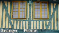 Architecture en colombage  Pont-l'Evque (Portocan) Tags: honfleur paysdauge calvados pommiers basilique colombages lisieux pontlvque pontdenormandie