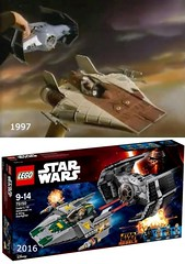 Are all sets sold separately? (O.Fedya) Tags: star lego ad commercial 1997 wars sets 2016