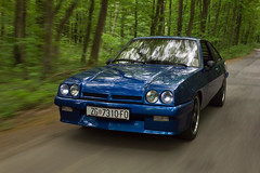 (Bla Zagorec) Tags: auto old blue classic car momo automobile interior wheels headlights oldschool vehicle oldtimer 20 manta opel irmscher cih