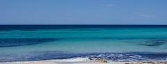 Mar mar mar (CreazioniDusiero) Tags: sea summer espaa beach canon landscape island mar spain verano formentera isla spiaggia isola llevant migjorn 0base