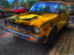 (Stephen Lam Hon Wai) Tags: car japan vintage honda cool rusty civic iphone hdp highdynamicpicture