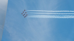 The Canadian Forces Snowbirds (431 Air Demonstration Squadron) Washington DC Flyover on May 24, 2016 (J Sonder) Tags: canada dcist flyover canadianforces popville cfsnowbirds famousdc exposeddc dcfocused greatergreaterwashingto