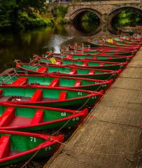 Boat`s (Blackburn lad1) Tags: bridge red green river boat arch