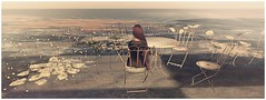 Horizon Romantic ( ImaginaryLand ) Tags: woman nature landscape sweet femme horizon sl secondlife romantic