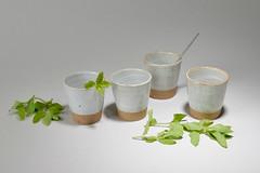 Tea-Bowl-white-brown-0013 (cdkceramic) Tags: white cup ceramic tea bowl   cdkceramic