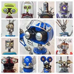 "Part-1 of 2. Its just about 1/2 way through the year of 2016 so here the robot faces so far! • <a style=""font-size:0.8em;"" href=""http://www.flickr.com/photos/132106327@N03/27649485155/"" target=""_blank"">View on Flickr</a>"