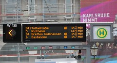 Karlsruhe, Marktplatz 06.06.2011 (The STB) Tags: tram karlsruhe tramway verkehr strassenbahn vbk strasenbahn verkehrsbetriebekarlsruhe