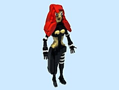 Goth Girl (vitreolum) Tags: lego character gothgirl vitreolum