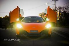 L1153814 (H.M.Lentalk) Tags: road leica orange car sport race 50mm super mclaren noctilux 50 luxury asph f095 1095 095 109550