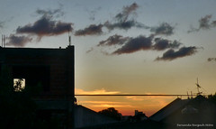 entre formas (ojoadicto) Tags: sunset atardecer estructura edificio construccion ciudad contraluz city nubes clouds artisticphotography