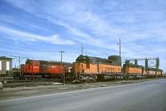 Milwaukee Road SD40-2 148 (Chuck Zeiler) Tags: road railroad milwaukee locomotive chz milw emd sd402 148