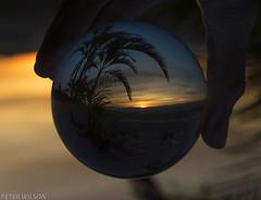 Fim de tarde na BASP (Peter Wilson SR.) Tags: sun brasil crystalball glassball fimdetarde