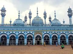 Jamia Masjid (sarmad pervez) Tags: blue rajabazar pakistan punjab rawalpindi