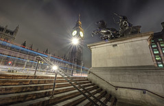 British flair (odin's_raven) Tags: light london statue big long exposure ben trails bigben le lighttrails hdr boadicea