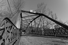 Rinconada Las Pilitas Bridge 1917 - 1 (flygrl67) Tags: county bridge las trees sky reflection metal historic centralcoast slo sanluisobispo 1917 rinconada sanluisobispocounty pilitas laspilitas