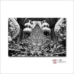 Virgen del Primer Dolor (Cani Mancebo) Tags: españa spain murcia cartagena semanasanta manto procesiones canimancebo virgendelprimerdolor