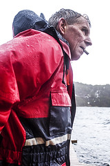 Winter fishing (Knapstad) Tags: storm wet rain norway norge fisherman windy cigar florø knapstad sognogfjorande