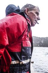 Winter fishing (Knapstad) Tags: storm wet rain norway norge fisherman windy cigar flor knapstad sognogfjorande