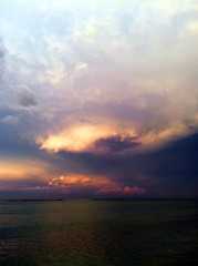 clouds and water (SS) Tags: blue light red sea summer vacation sky italy white seascape storm black beach water colors weather rose yellow vertical clouds composition skyscape grey evening moving mare waves mood dof view purple angle wind pov walk year perspective scenic july panoramica lungomare nero depth tone foreshore vastness abruzzo celeste roseto iphone costaadriatica atmophere noseup natureselegantshots