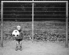 Decisive moment for a soccer goalie - Fuji X-Pro 1 (HamburgCam) Tags: sports 35mm goalie action soccer midair decisivemoment xf fujixpro1