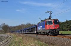 421 372-4 SBB (vsoe) Tags: train germany deutschland eisenbahn railway zug sbb bahn autozug niedersachsen 421 güterzug re44 stubben mosolf