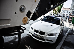 Nicely parked (D.LOS) Tags: photography nikon automotive romania bmw nikkor m3 coupe v8 sportscar cluj napoca e92 18105mm d7000
