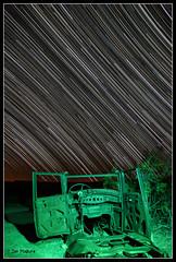 Ballarat Car 5DII (maguire33@verizon.net) Tags: california unitedstates burro ghosttown deathvalley ballarat startrails starstax