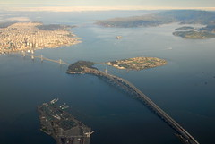 Bay Area aerial, California, USA (Damon Tighe) Tags: bridge port island oakland golden bay gate san francisco treasure marin alcatraz yerba buena