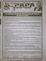 m3elnacional (cabish) Tags: de metro por programa gobierno exposicin hipolito meja felicita cubico llegopapa