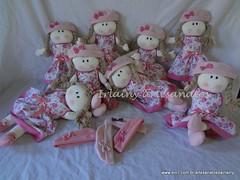 Bonecas de 40cm (Irlainy artesanatos) Tags: bonecas pano rosa batizado infantil bebê boneca festa aniversário decoração nascimento maternidade roupa chapeu lembrancinha roupinha nincho bonecasdepano centrodemesa chádefraldas bonecasde40cmdadenise
