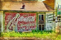 Coca-Cola  carey Idaho (Pattys-photos) Tags: sign ghost cocacola nikkor18200mm nikond7000
