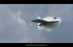 Aircraft vapour cloud (Paul Simpson Photography) Tags: speed plane airplane grey wings war flickr fighter aircraft military son