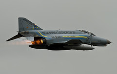 F4 Phantom ripping it up (Pete Hemsley) Tags: germany force air german phantom f4 burners gaf mach waddington