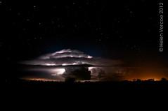 Sky Show au Natural (13 of 15) (Helen Vercoe) Tags: longexposure sky storm weather night clouds stars silhouettes lightning southaustralia celestial roxbydowns nikond90