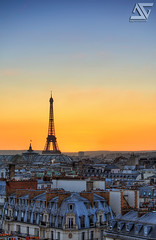 See you tomorrow (A.G. Photographe) Tags: sunset paris france tower french lafayette haussmann tour eiffel ag hdr parisian anto grandpalais xiii parisien gustaveeiffel galerielafayette d700 antoxiii hdr9raw 70200vrii agphotographe