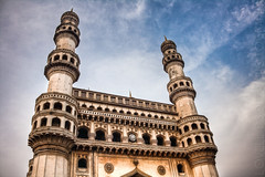 The Charminar - Standing Tall (Lovell D'souza) Tags: india hyderabad oldcity charminar
